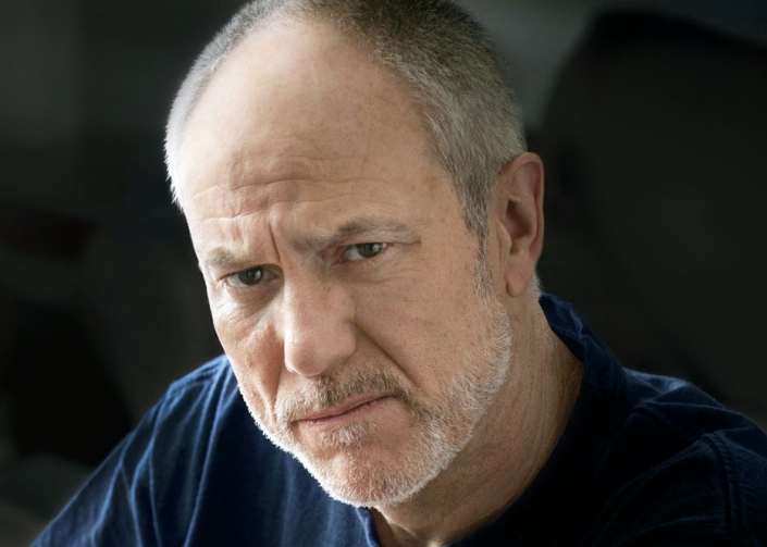 """Photograph of actor Barry Stoltze as """"Bad Barry"""""""